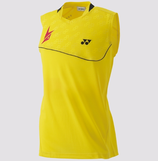 Lin Dan Ltd Edition - Yonex Sleeveless Game Shirt 10000LDEX, Yellow