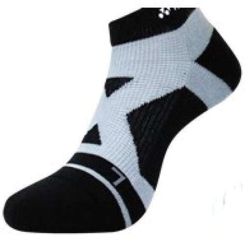2 Pairs High Qualiity Yonex Socks 14510TR-007, 25-28cm, Black, Made in Taiwan