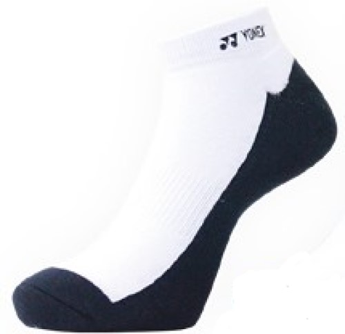 2 Pairs High Qualiity Yonex Socks 14519TR-019, 25-28cm, White/Dark Blue, Made in Taiwan