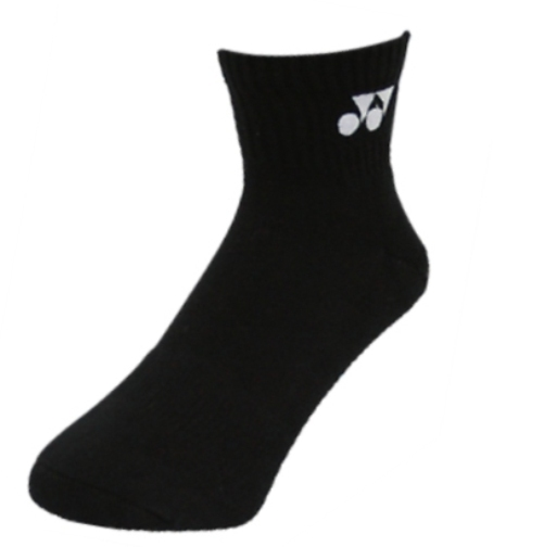 2 Pairs High Qualiity Yonex Socks 14628TR-007, 25-28cm, Black, Made in Taiwan