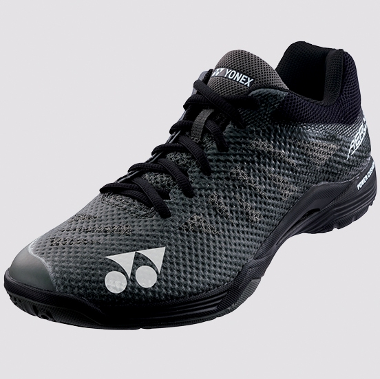 2019 Yonex Badminton Shoes AERUS 3 Mens SHBA3MX, Black, Power Cushion/Lightest