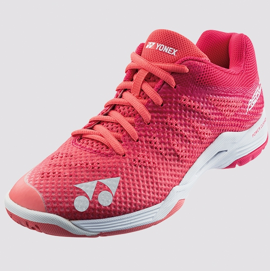 2019 Yonex Badminton Shoes AERUS 3 Ladies SHBA3LX Rose Red, Power Cushion/Lightest
