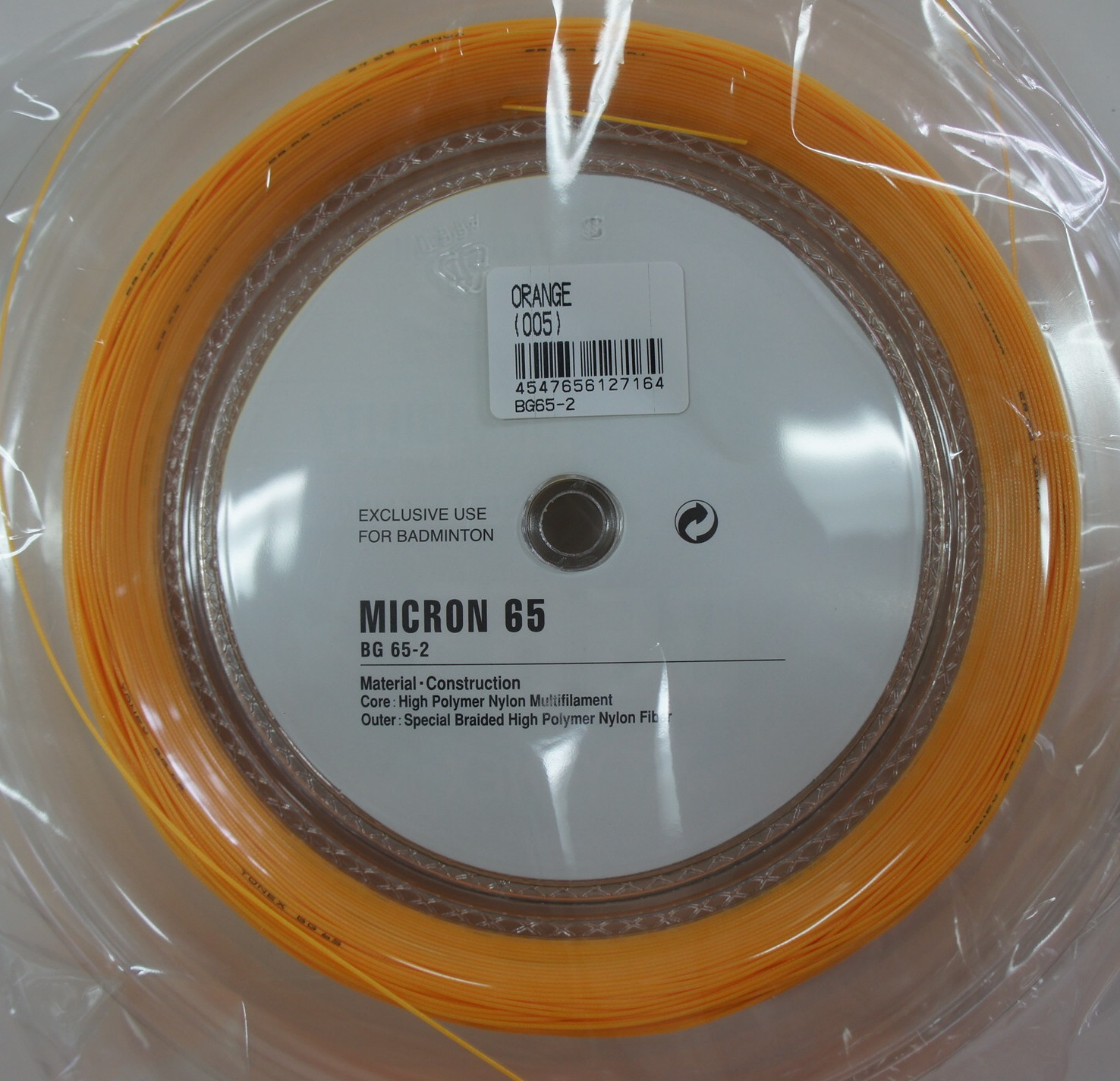 YONEX BG65 Badminton Coil String, 200m, More Durable ...