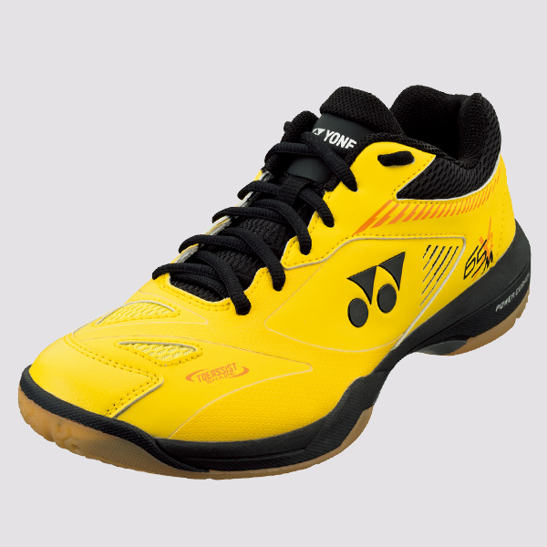 2019-20 Yonex Badminton Squash Indoor Shoes SHB65X2 Mens, Yellow, Power Cushion+