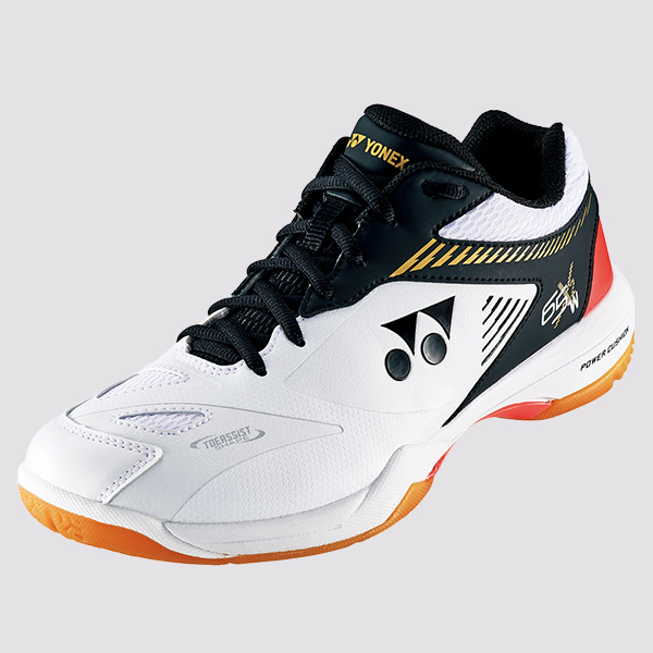 2019-20 Yonex Badminton Squash Indoor Shoes SHB65X2 Mens Wide, White/Black, Power Cushion+