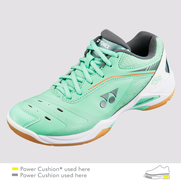 Yonex Womens Power Cushion 03zl Badminton Shoes yellow Squash