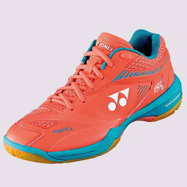 2019-20 Yonex Badminton Squash Indoor Shoes SHB65Z2 Ladies, Coral Orange, Power Cushion+