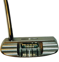 CP-PCS2 Precision Made Putter - Bent Stainless Steel Shaft