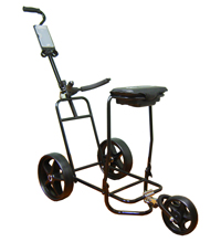 GCFX-W Completely Foldable Buggy with Box Seat & 3rd Suspension Wheel