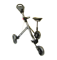 GCX-1XS Deluxe 3-Wheel Aluminum Lightweight Buggy with Seat