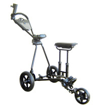 GCX-4X Deluxe Fold Down Buggy with Twin-Leg Spring Loaded  Box Seat