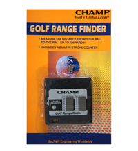 GRF Champ Golf Range Finder with Stroke Counter