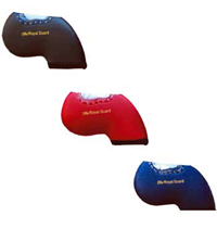 IC-08 The Royal Guard Leather Like Neoprene Iron Covers with Viewing Window - Set of 10