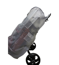 "IS-10P Soft PVC 10"" Golf Bag Rain Cover with 2 Pockets"