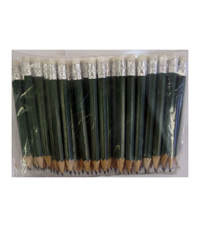 PS-2R Wooden Pencil with Rubber - 20 Pieces