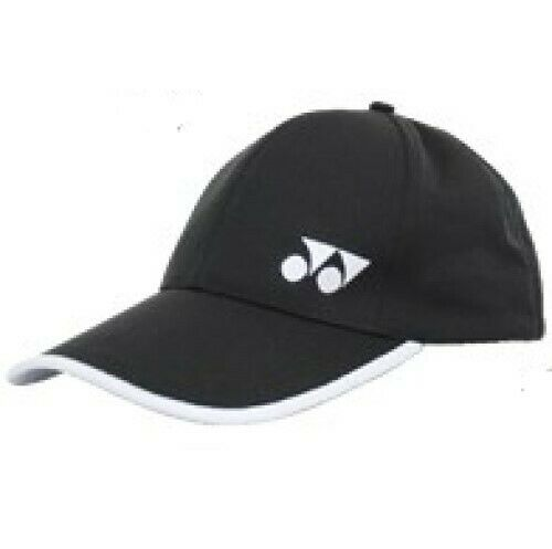YONEX Tennis/Badminton Cap/Hat 14018TR-007, One Size fits All, Black