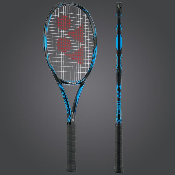 YONEX EZONE DR 98 Lite Tennis Racquet (G3, UNSTRUNG), Black/BLUE