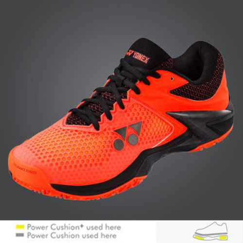 Yonex Tennis Shoes 3-Layer Power Cushion ECLIPSION 2, Wearing by Wawrinka