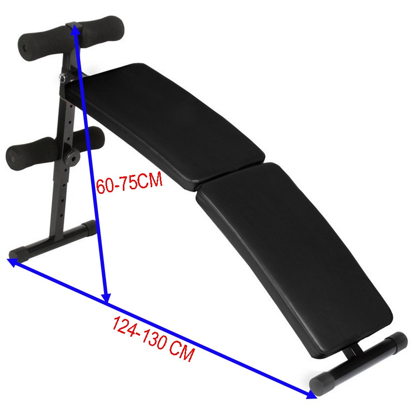 Exercise Bench - Heavy-Duty Adjustable Sit-Up Bench SUB-53