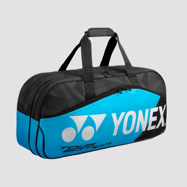 YONEX Pro Tournament 6-Racquet Rectangular Bag 9831WEX, Infinite Blue